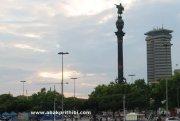 The Columbus Monument, Barcelona, Spain (1)