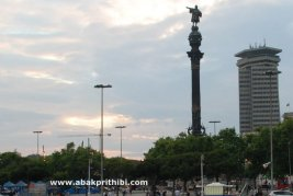 The Columbus Monument, Barcelona, Spain (1)