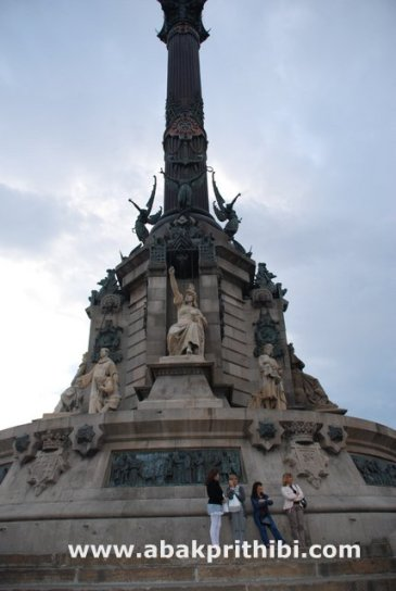 The Columbus Monument, Barcelona, Spain (2)
