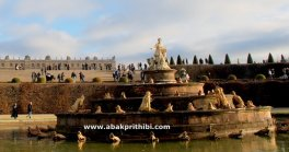 The Latona Fountain, Gardens of Versailles, France (1)