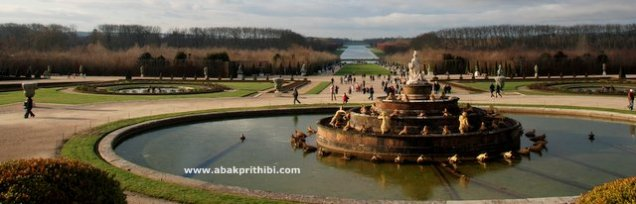 The Latona Fountain, Gardens of Versailles, France (4)