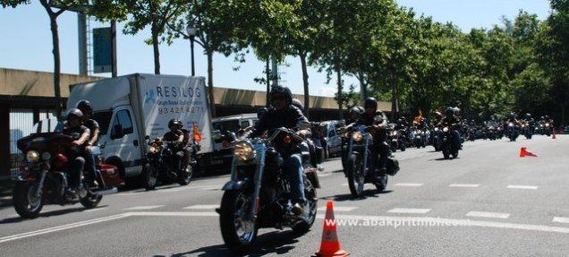 harley rally - barcelona