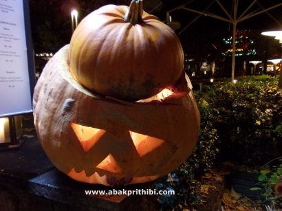 Jack o'lantern of Halloween