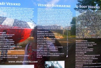 Submarine Vesikko, Suomenlinna, Finland (1)