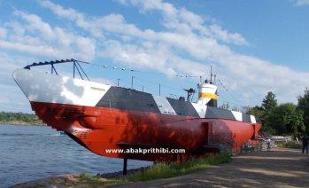 Submarine Vesikko, Suomenlinna, Finland (2)