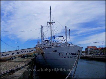 The Gil Eannes, Portuguese hospital ship, Viana do Castelo (1)